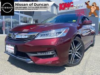 Used 2017 Honda Accord Sedan Touring for sale in Duncan, BC