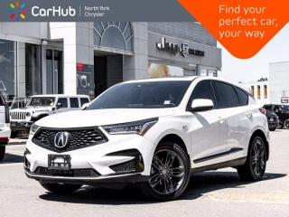 Used 2019 Acura RDX A-Spec AWD w/ Leather Heated & Vented Seats ELS 3D Sound for sale in Thornhill, ON