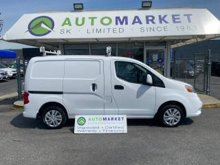 Used 2018 Nissan NV200 S CARGO $6000.00 WORTH OF DELUXE SHELVING & LADDER RACK! FREE BCAA & WRNTY for sale in Langley, BC