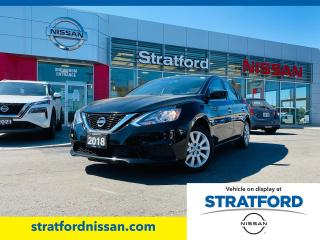 Used 2018 Nissan Sentra S for sale in Stratford, ON