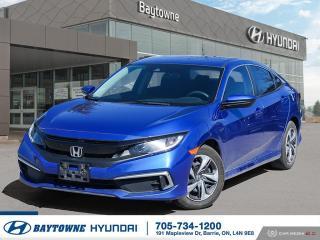 Used 2019 Honda Civic Sedan LX CVT for sale in Barrie, ON