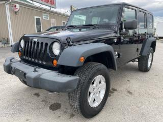 Used 2008 Jeep Wrangler X for sale in Tilbury, ON