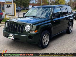 Used 2008 Jeep Patriot Sport|SINGLE OWNER|LOW KM|NO ACCIDENT|CERTIFIED for sale in Oakville, ON