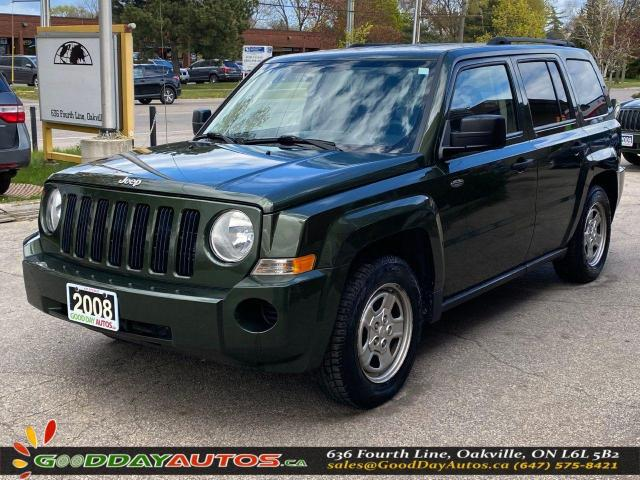 2008 Jeep Patriot Sport|SINGLE OWNER|LOW KM|NO ACCIDENT|CERTIFIED