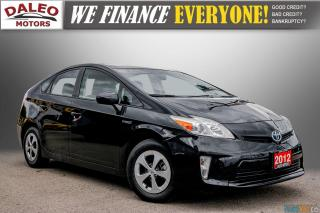 Used 2012 Toyota Prius HYBRID / BACK UP CAM / BLUETOOTH for sale in Hamilton, ON