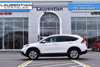 Used 2014 Honda CR-V Touring for sale in Sudbury, ON