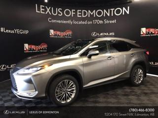 New 2021 Lexus RX 350 Executive Package for sale in Edmonton, AB