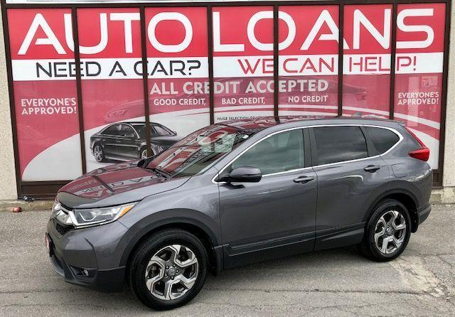 2017 Honda CR-V EX-L-ALL CREDIT  ACCPETED
