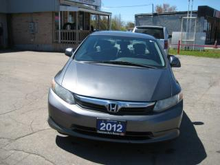 Used 2012 Honda Civic LX for sale in Cambridge, ON