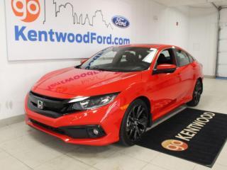 Used 2019 Honda Civic Sedan Sport for sale in Edmonton, AB