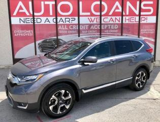 Used 2018 Honda CR-V TOURING-ALL CREDIT ACCEPTED for sale in Toronto, ON