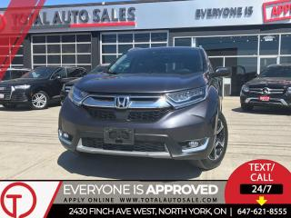 Used 2017 Honda CR-V TOURING | NAVI | PANO | XENON for sale in North York, ON