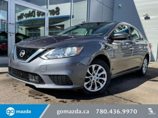 Used 2018 Nissan Sentra SV - SUNROOF, BLUETOOTH, BACK UP, HEATED SEATS AND MORE for sale in Edmonton, AB