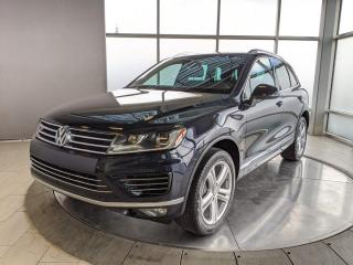 Used 2015 Volkswagen Touareg EXECLINE for sale in Edmonton, AB