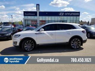 Used 2019 Lincoln Nautilus RESERVE/NAV/PANO ROOF/LEATHER for sale in Edmonton, AB