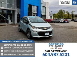 Used 2019 Chevrolet Bolt EV Premier WIRELESS CHARGING - REAR PARK ASSIST - HEATED SEATS for sale in North Vancouver, BC