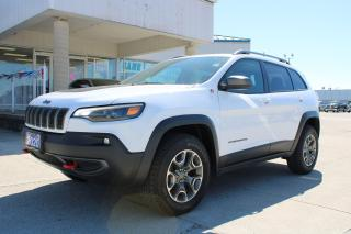 Used 2020 Jeep Cherokee Trailhawk for sale in Tilbury, ON