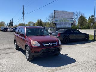 Used 2004 Honda CR-V EX-L for sale in Komoka, ON