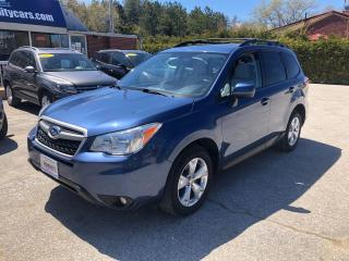 Used 2014 Subaru Forester 2.5i Limited for sale in Flesherton, ON