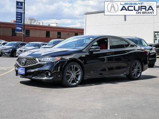 Used 2018 Acura TLX Tech A-Spec 3.5L V6 SH-AWD Acura Certified, Clean Car Fax! for sale in Burlington, ON