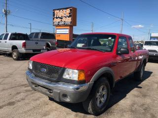 Used 2002 Ford Ranger FX4*4X4*NEW TIRES*DRIVES GREAT*4L V6*AS IS SPECIAL for sale in London, ON