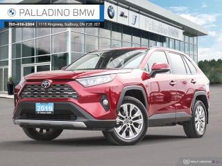 Used 2019 Toyota RAV4 Limited Navigation, Low-Speed Collision Warning, AWD for sale in Sudbury, ON