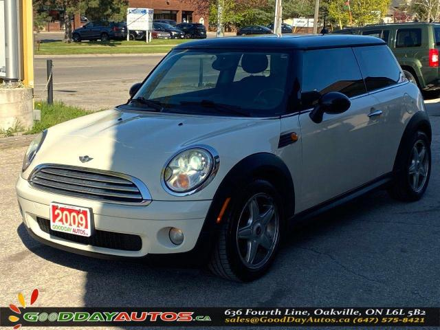 2009 MINI Cooper LOW KM|NO ACCIDENT|LEATHER|SUNROOF|CERTIFIED