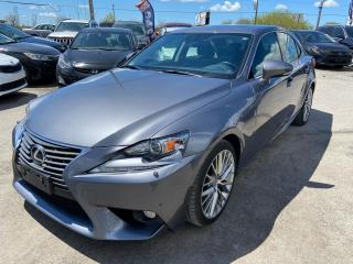 Used 2014 Lexus IS 250 Loded for sale in Gloucester, ON