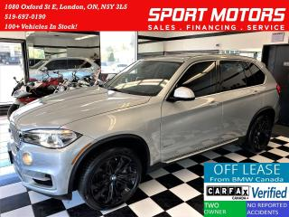 Used 2015 BMW X5 xDrive35d TECH+HUD+360 CAM+CooledSeat+CLEAN CARFAX for sale in London, ON