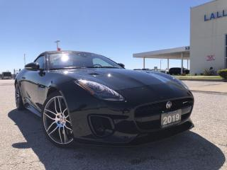 Used 2019 Jaguar F-Type R-Dynamic F-TYPE|R-DYNAMIC|AWD|CONVERTIBLE|NAV|HTD & COOLED SEATS|HTD STEERING| for sale in Leamington, ON