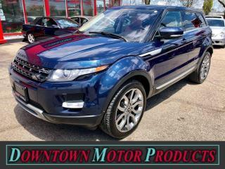 Used 2013 Land Rover Range Rover Evoque Prestige Premium AWD for sale in London, ON