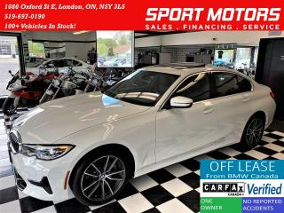 Used 2019 BMW 3 Series 330i xDrive+ApplePlay+LaneKeep+PDC+CLEAN CARFAX for sale in London, ON