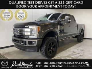 Used 2019 Ford F-250 Super Duty SRW Platinum for sale in Sherwood Park, AB