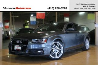 Used 2014 Audi A4 TECHNIK - S-LINE|BANG&OLUFSEN|BLINDSPOT|NAV|BACKUP for sale in North York, ON