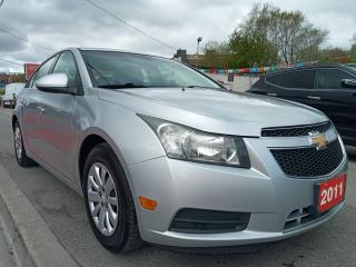 Used 2011 Chevrolet Cruze LT Turbo w/1SA-EXTRA CLEAN-133K-BLUETOOTH-AUX-USB for sale in Scarborough, ON
