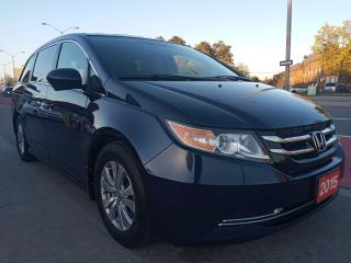 Used 2015 Honda Odyssey EXTRA CLEAN-8 SEATS-BK UP CAM-DVD-BLUETOOTH-ALLOYS for sale in Scarborough, ON