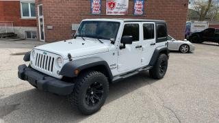 Used 2014 Jeep Wrangler UNLIMITED SPORT/4X4/3.6L/NO ACCIDENTS/SAFETY INCL for sale in Cambridge, ON