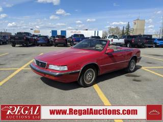 Used 1989 Maserati CHRYSLER'S TC  2D CONVERTIBLE FWD for sale in Calgary, AB