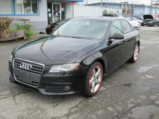 Used 2011 Audi A4 2.0T Premium Plus for sale in Vancouver, BC