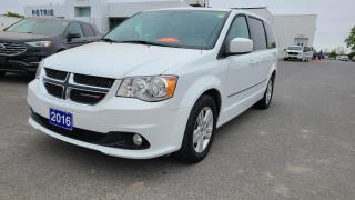Used 2016 Dodge Grand Caravan Crew - STOW'N'GO, CRUISE, AC for sale in Kingston, ON