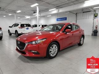 Used 2018 Mazda MAZDA3 Sport GS HB SPORT - CAMERA + S. CHAUFFANTS + JAMAIS ACCI for sale in Saint-Eustache, QC