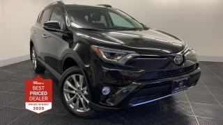 Used 2018 Toyota RAV4 AWD LIMITED *NAVIGATION - HEATED LEATHER- SUNROOF* for sale in Winnipeg, MB