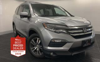 Used 2016 Honda Pilot 4WD EX-L *HEATED LEATHER - SUNROOF - LANEWATCH* for sale in Winnipeg, MB
