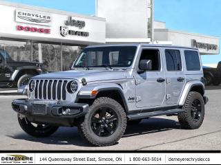 Used 2020 Jeep Wrangler ALTITUDE SAHARA | DUAL TOP | NAV | UPGRADED TIRES for sale in Simcoe, ON