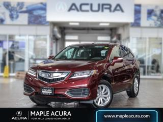 Used 2017 Acura RDX Tech, one owner, no accidents for sale in Maple, ON