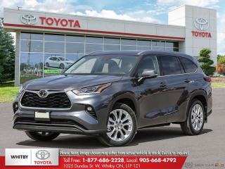 New 2021 Toyota Highlander Platinum for sale in Whitby, ON
