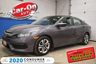 Used 2017 Honda Civic HEATED SEATS | REAR VIEW CAMERA | CLIMATE CONTROL for sale in Ottawa, ON