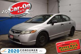 Used 2006 Honda Civic only 140,000KM AUTOMATIC | POWER GROUP | AIR CONDI for sale in Ottawa, ON