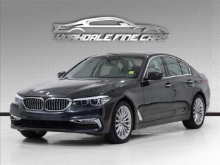 Used 2017 BMW 5 Series 530i xDrive Premium Pkg, Navigation, No Accidents for sale in Concord, ON