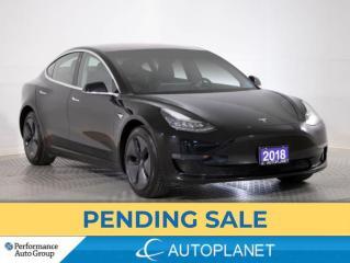 Used 2018 Tesla Model 3 Long Range AWD,Navi, Enhanced Autopilot, New Tires for sale in Brampton, ON